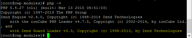 Installing zend loader on centos web panel [cwp] | bullten web.